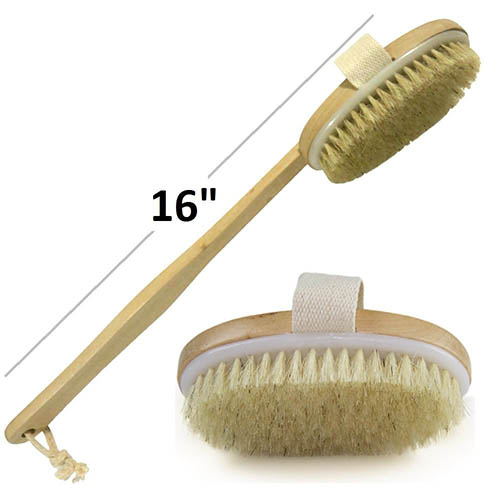 9. Wholesome Beauty Dry Skin Body Brush