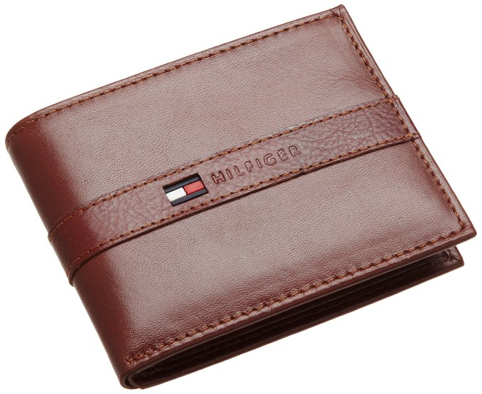 3. Men's Leather Ranger Passcase Wallet