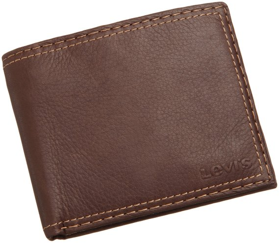 8. Extra Capacity Leather Slimfold Wallet