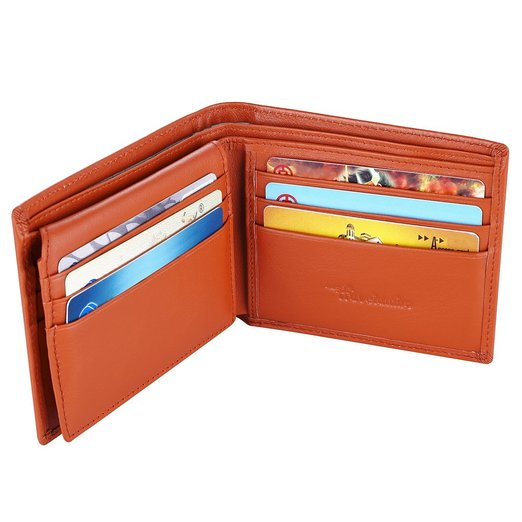 1. Genuine Leather RFID Blocking Wallets