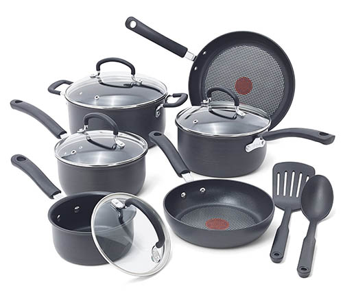 7. Ultimate Hard Anodized Durable Cookware Set