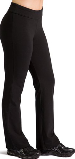 5. Women's Eco fabric Bootleg Yoga Pant