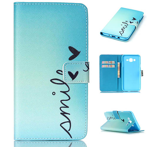 2. Galaxy J7 Wallet Case, SMYTU