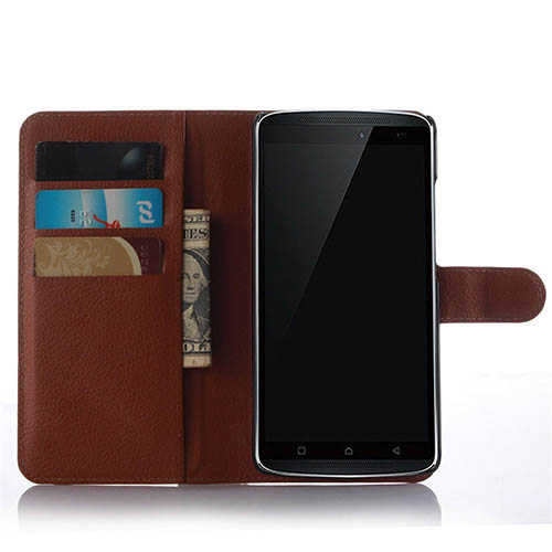 4. Lenovo K4 note Leather Case, Yaker JFC
