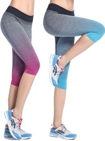 8. Crop Capris Active Leggings