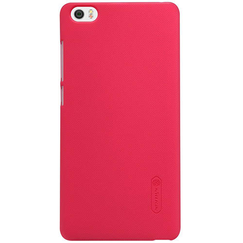 7. Nillkin Frosted Shield Matte Plastic Slim Fit Case- Red