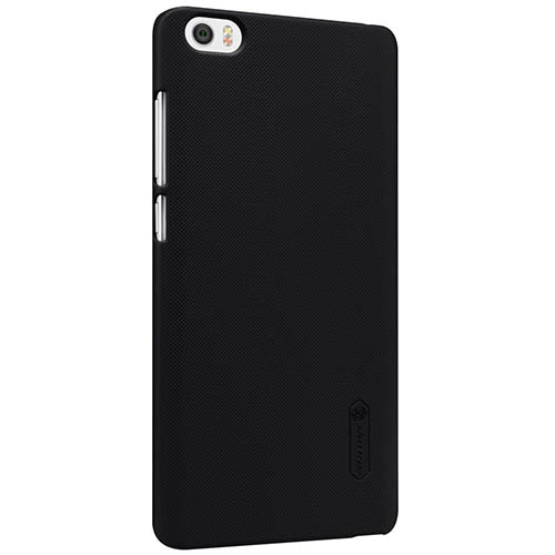 8. Nillkin Frosted Shield Matte Plastic Slim Fit Case- Black
