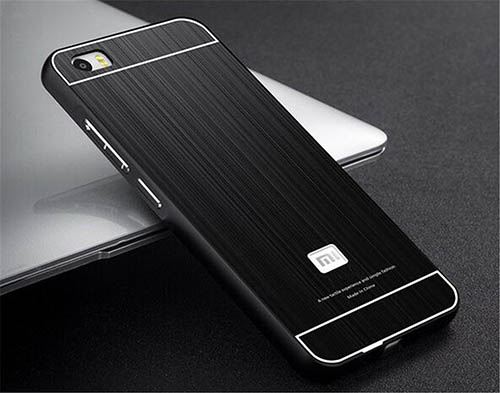 5. Luxury Metal Aluminum Bumper Skin Case