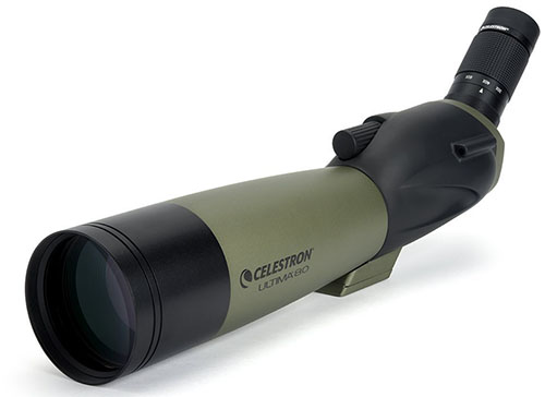 10. Celestron 80mm Zoom Spotting Scope