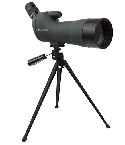 1. Emarth Waterproof Angled Spotting Scope