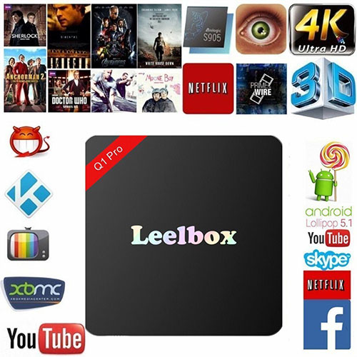 4. Leelbox Q1 Pro Android TV Box