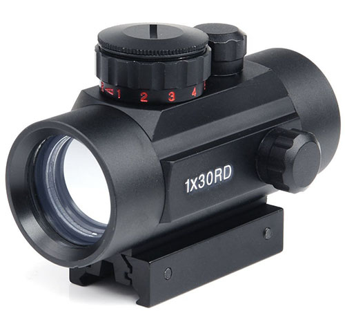 9. Rifle scope 1x30mm Red Dot