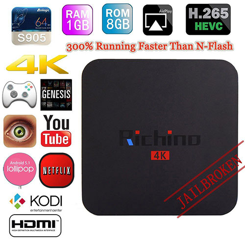 3. NEW Richino Android Tv Box